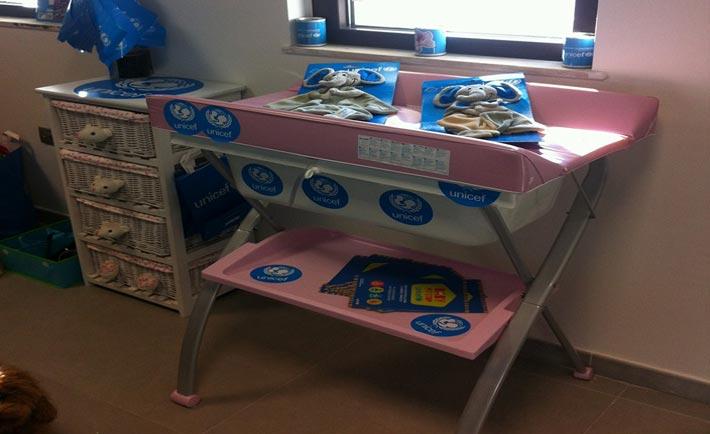 Baby Pit Stop in aeroporto a Crotone