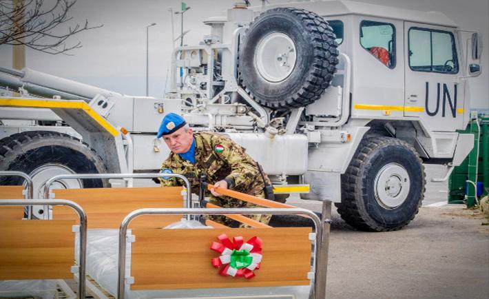 donazione militari italiani ospedale tiro