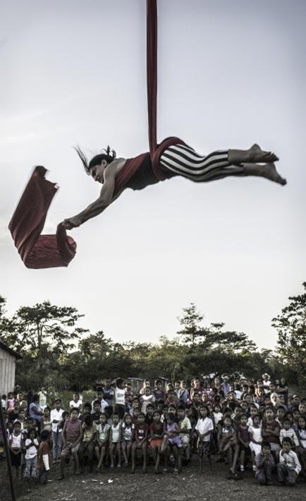 Il Circo InZir in Guatemala