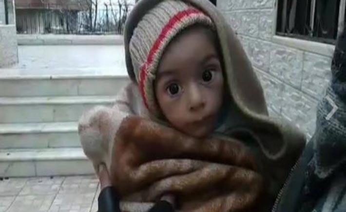 bambini muoiono di fame a madaya