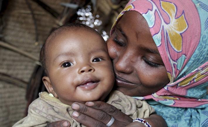 Fatuma, una mamma etiope. Foto Save the Children