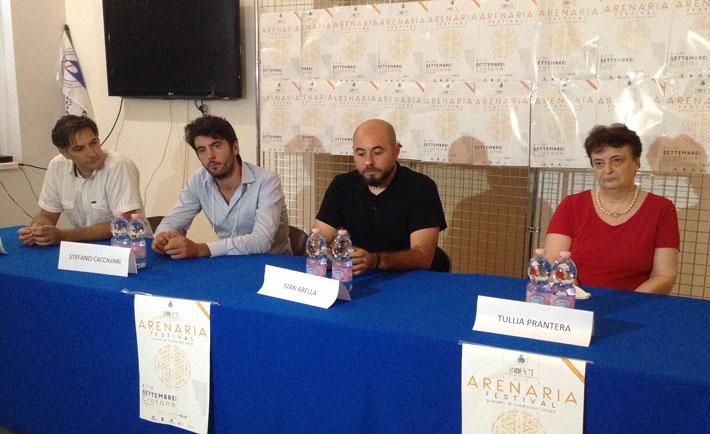 """Nella foto: """"da sinistra) Capalbo, Caccavari, Arella e Prantera"""