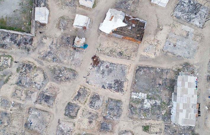 incendio morto baraccopoli san ferdinando