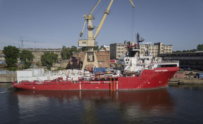 ocean viking MSF
