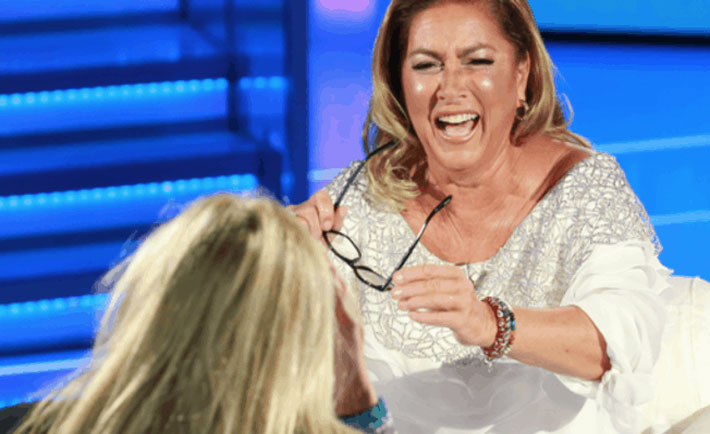 romina power gaffe domenica in