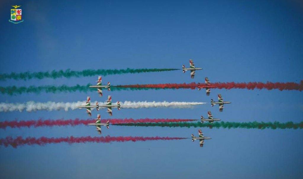 frecce tricolori programma