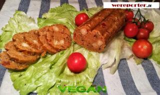 salame vegano fatto in casa ricetta
