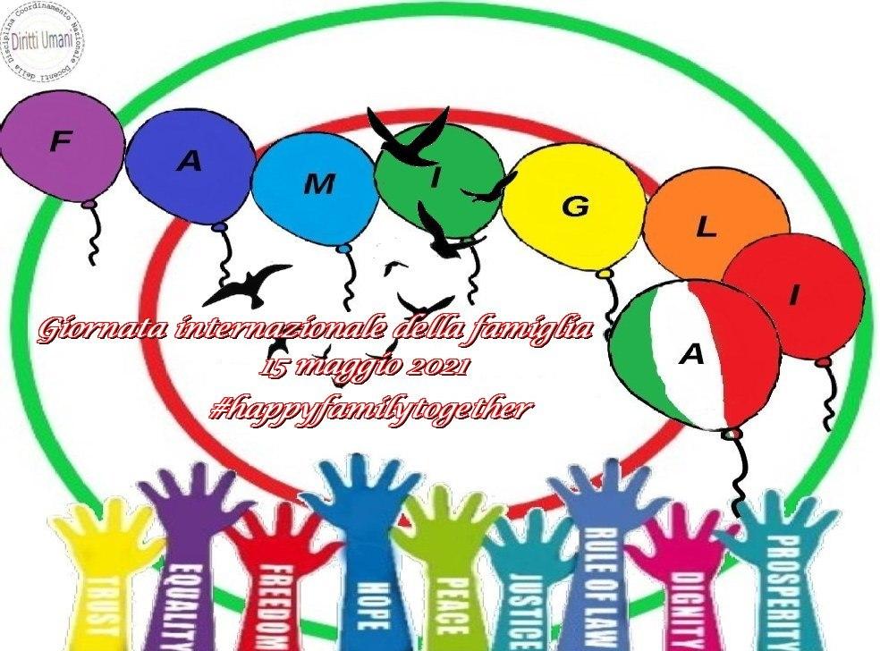 """CNDDU: 15 maggio 2021 """"Giornata Internazionale della Famiglia"""""""