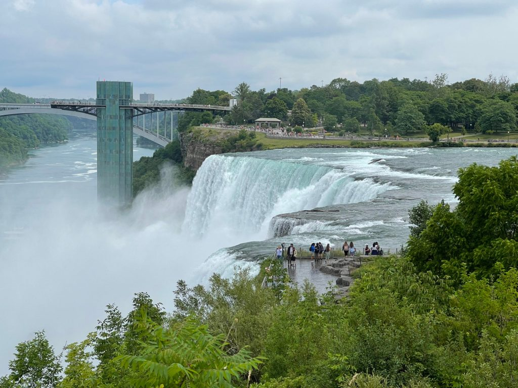American Falls with Observation Tower