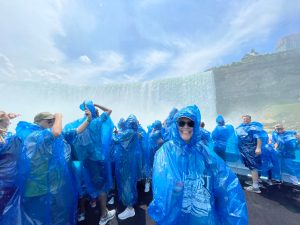 Marcy as We Near Horseshoe Falls from Maid of the Mist