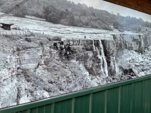 """In 1969 Niagara's American Falls were """"turned off"""" so engineers could study the effects of rock falls on the flow of the water."""