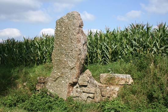de menhir danthine de menhir danthine 3 60 m hoog 8 ton die ...