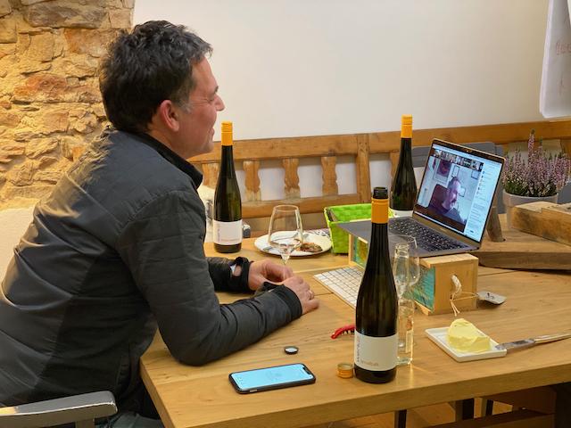 Online Weinprobe - Virtuelle Teamevents mit werk2