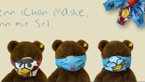 Jetzt auch Kinder-Masken