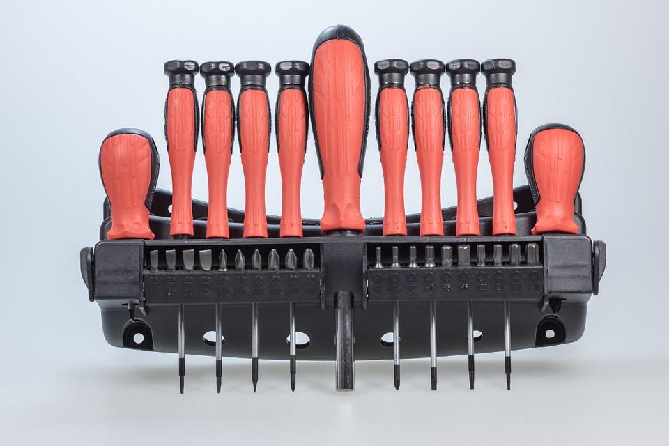 Werkzeugkasten Schraubendreher