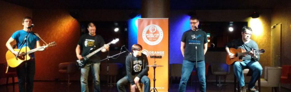 Werner Strong im Orange Club - unplugged