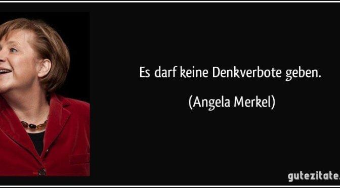 Zukunft 2050 mit Merkel