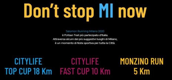 Don't stop MI now: la Salomon Running Milano