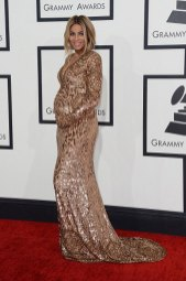 Ciara in Emillio Pucci at the 2014 Grammy Awards