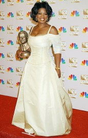 Oprah in September 2002 at the Emmy Awards