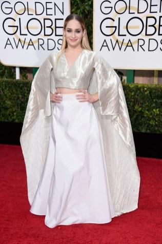 Jemima Kirke attends the 72nd annual Golden Globe Awards