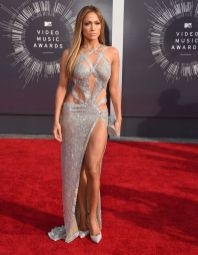Jennifer Lopez in CharbelZoe at the 2014 MTV Video Music Awards
