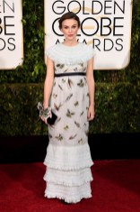 Keira Knightley attends the 72nd annual Golden Globe Awards