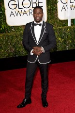 Kevin hart attends the 72nd annual Golden Globe Awards