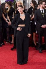 Lorde attends the 72nd annual Golden Globe Awards