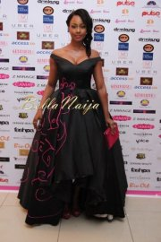 Osas Ighodaro at the Genevive pink ball