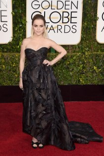 Taryn Manning attends the 72nd annual Golden Globe Awards
