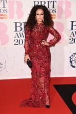 Rebecca Ferguson at the 2015 Brit Awards
