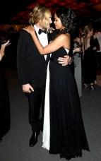 Zoe Saldana and her husband Marco Perego