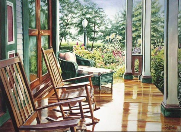 Southern Mansion by Carole Clarke