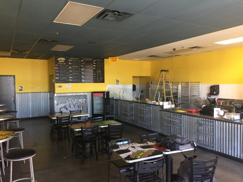 Vacant Restaurant Space For Lease On Quebec Street In