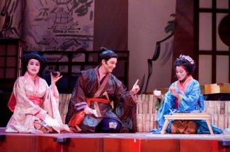 As Nanki Poo in The Atlanta Lyric Theatre's production of Mikado