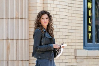 """CONSTANTINE -- """"The Darkness Beneath"""" Episode 103 -- Pictured: Angelica Celaya as Zed -- (Photo by: Tina Rowden/NBC)"""