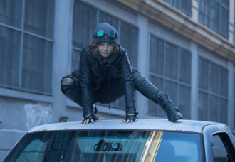 "GOTHAM: Selina Kyle (Camren Bicondova) makes a stealthy entrance in the ""The Mask"" episode of GOTHAM airing Monday, Nov. 10 (8:00-9:00 PM ET/PT) on FOX. ©2014 Fox Broadcasting Co. Cr: Jessica Miglio/FOX"