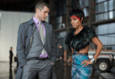 "GOTHAM: Fish Mooney (Jada Pinkett Smith, R) and Nikolai Azarov (guest star Jeremy Davidson, L) discuss the future of the Falcone family in the ""Penguin's Umbrella"" episode of GOTHAM airing Monday, Nov. 3 (8:00-9:00 PM ET/PT) on FOX. ©2014 Fox Broadcasting Co. Cr: Jessica Miglio/FOX"