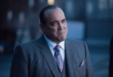 "GOTHAM: Guest star David Zayas as Sal Maroni in the ""Penguin's Umbrella"" episode of GOTHAM airing Monday, Nov. 3 (8:00-9:00 PM ET/PT) on FOX. ©2014 Fox Broadcasting Co. Cr: Jessica Miglio/FOX"