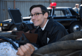 "GOTHAM: Edward Nygma (Cory Michael Smith) finds a piece of evidence in the ""The Mask"" episode of GOTHAM airing Monday, Nov. 10 (8:00-9:00 PM ET/PT) on FOX. ©2014 Fox Broadcasting Co. Cr: Jessica Miglio/FOX"