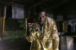 """CONSTANTINE -- """"The Devil's Vinyl"""" Episode 104 -- Pictured: Michael James Shaw as Papa Midnite -- (Photo by: Tina Rowden/NBC)"""