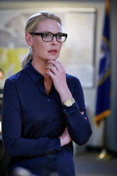 "STATE OF AFFAIRS -- ""Half the Sky"" -- Pictured: Katherine Heigl as Charleston Tucker -- (Photo by: Ben Cohen/NBC)"