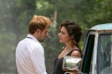 "CONSTANTINE -- ""A Feast of Friends"" Episode 105 -- Pictured: Matt Ryan as John Constantine, Anjelica Celaya as Zed -- (Photo by: Tina Rowden/NBC)"