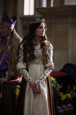 """GALAVANT - """"Pilot"""" - """"Galavant"""" will premiere on SUNDAY, JANUARY 4 (8:00-9:00 p.m., ET) with two 30 minute episodes, back-to-back on the ABC Television Network. """"Pilot"""" (8:00-8:30 p.m., ET) - When heroic, charming and handsome Sir Galavant loses his true love, the beautiful Madalena, to evil King Richard's wealth and power, he falls into a deep and drunken despair. Just as our hero hits rock bottom, Princess Isabella shows up with a quest to save her kingdom, defeat the despicable King Richard, and provide an opportunity for Galavant to reclaim Madalena. Galavant is off to become a hero again and strike a blow for true love...but first, Galavant has to fit into his old hero pants. (ABC/Nick Ray) MALLORY JANSEN"""
