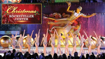 "CHRISTMAS IN ROCKEFELLER CENTER SPECIAL -- Pictured: ""Christmas in Rockefeller Center"" Key Art -- (Photo by: NBCUniversal)"