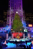 CHRISTMAS IN ROCKEFELLER CENTER SPECIAL -- Pictured: 2013 Christmas Tree -- (Photo by: David Giesbrecht/NBC)
