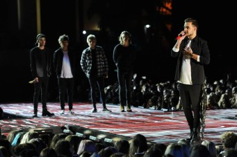 ONE DIRECTION: THE TV SPECIAL -- Pictured: (l-r) Zayn Malik, Louis Tomlinson, Niall Horan, Harry Styles, and Liam Payne of the band One Direction -- (Photo by: Jeff Daly/NBC)