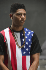 """EMPIRE: Hakeem (Bryshere Gray) is smitten by a female music act in the """"Outspoken King"""" episode of EMPIRE airing Monday, Jan. 14 (9:00-10:00 PM ET/PT) on FOX. ©2014 Fox Broadcasting Co. CR: Chuck Hodes/FOX"""