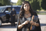 "EMPIRE: Cookie (Taraji P. Henson) visits an old friend in the ""The Devil Quotes Scripture"" episode airing Wednesday, Jan. 21 (9:00-10:00 PM ET/PT) on FOX. ©2014 Fox Broadcasting Co. CR: Chuck Hodes/FOX"